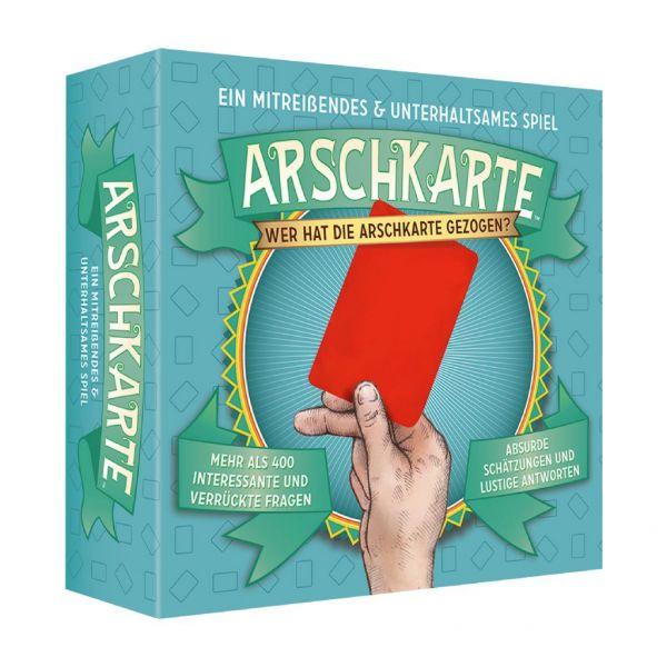 Kylskåpspoesi Spiel Arschkarte