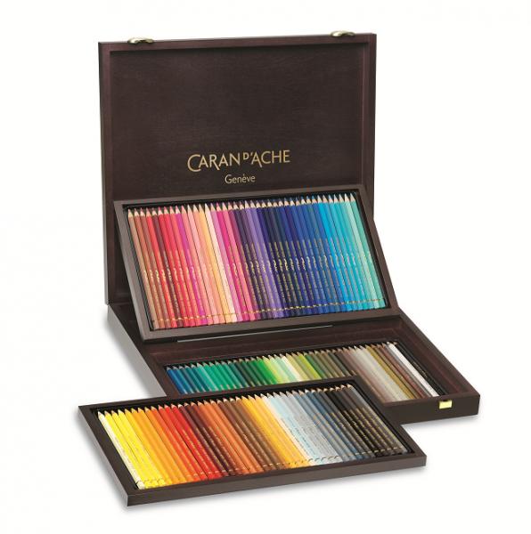120 Farben PABLO® Farbstifte im Holzkoffer