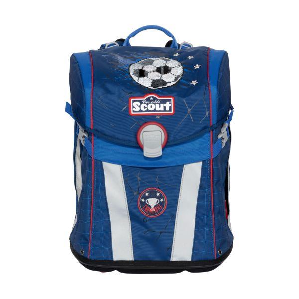 Scout Sunny Schulranzen Set 4-teilig Premium Football