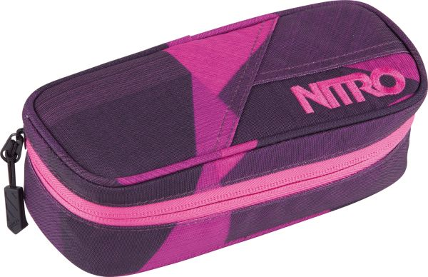 Mäppchen PENCIL CASE XL FRAGMENTS PURPLE