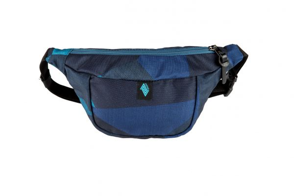 HIP BAG FRAGMENTS BLUE