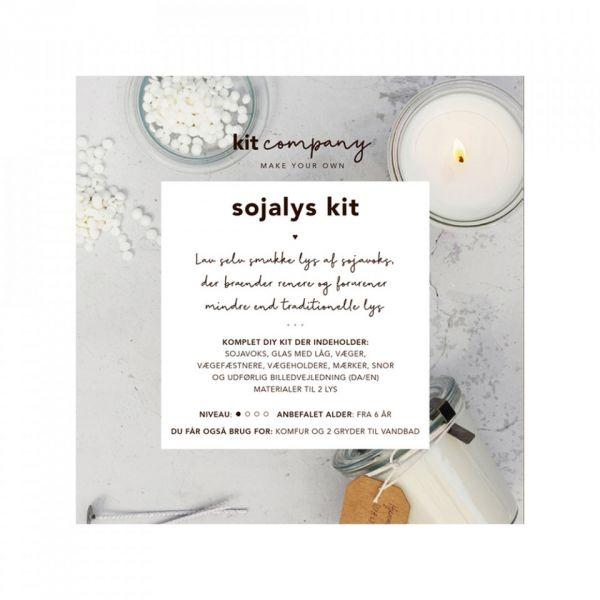Kit Company DIY Soja Kerzen Set