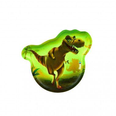 Glow-Klettie Dinosaurier