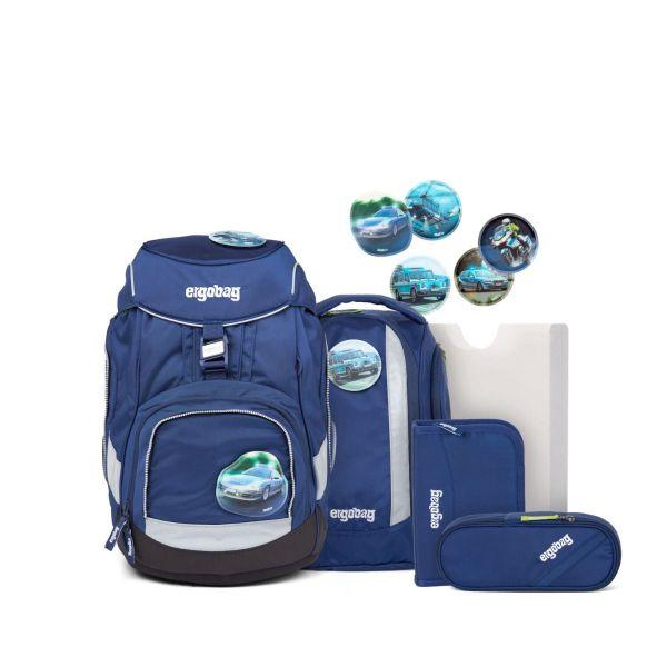 Ergobag Pack Schulranzen-Set BlaulichtBär