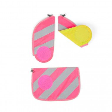 Zip-Set Reflektor Pink