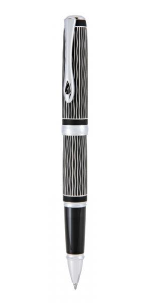 Tintenroiler Excellence A plus Wave guiliochiert lapis schwarz