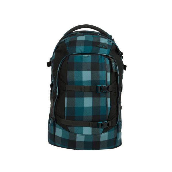 Satch Pack Schulrucksack Blue Bytes