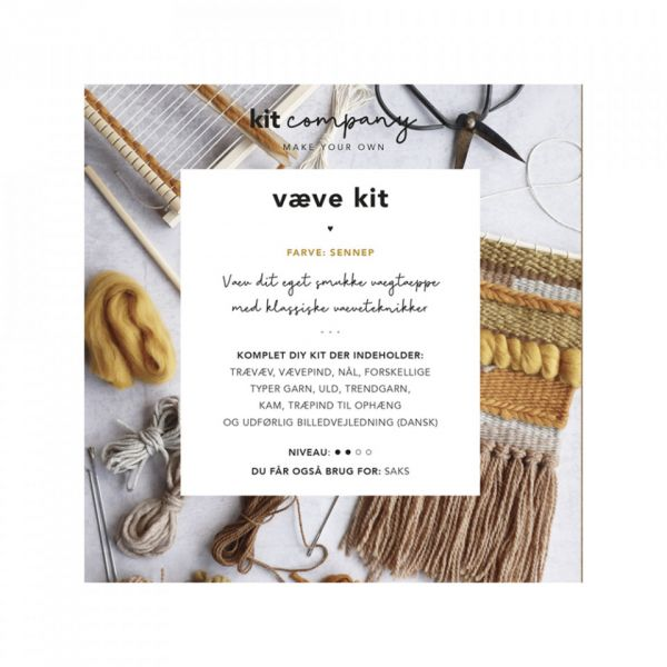 Kit Company DIY Web Set senf/braun