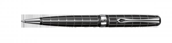 Kugelschreiber Excellence A plus Raute guillochiert lapis schwarz easyFLOW