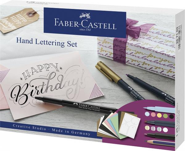 Faber-Castell Kreativset Handlettering 12-teilig
