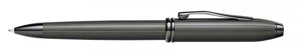 Kugelschreiber Townsend, Mattschwarz PVD