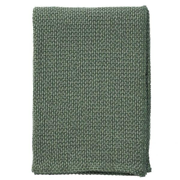 Klippan Decke Basket grün
