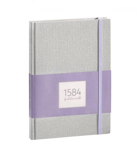 """Notizbuch DIN A5 """"1584 by Hahnemühle"""" lilac 100 Blatt / 200 Seiten"""