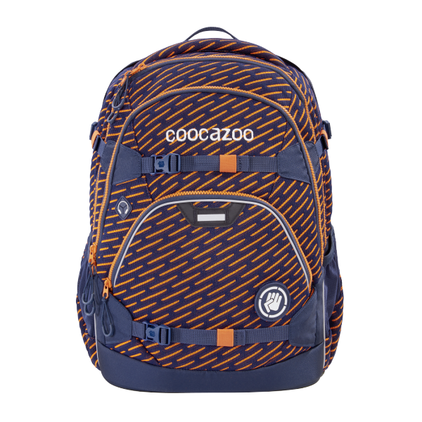 "Rucksack ""ScaleRale"" FreakaSneaka Orange Blue + Schlamperetui"