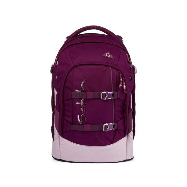 Satch Pack Schulrucksack Solid Purple