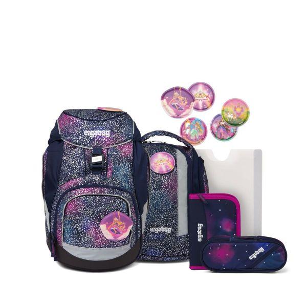 Ergobag Pack Schulranzen-Set Bärlaxy Super Glow