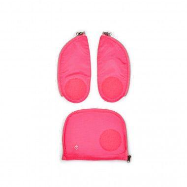 Fluo LED Zip-Set Pink
