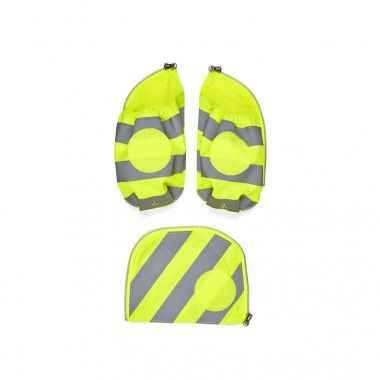 Fluo Seitentaschen Zip-Set Reflektor Gelb