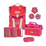 Scout Sunny Funny Snaps Country Schulrucksack Set 4tlg.