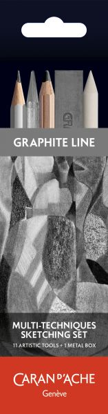 Caran d'Ache MULTI-TECHNIK-SKIZZIERSET Grafcube