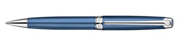 Kugelschreiber Leman Grand Bleu versilbert/rhodiniert