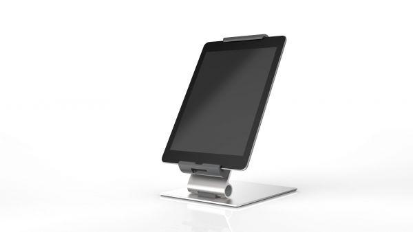 DURABLE Tablet Holder Tablethalter 893023 7-13Zoll Tischständer silber