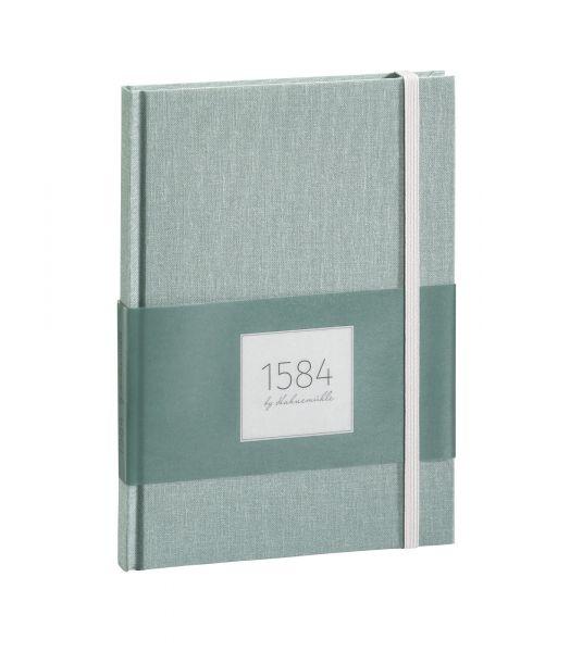 """Notizbuch DIN A5 """"1584 by Hahnemühle"""" seegrün 100 Blatt / 200 Seiten"""