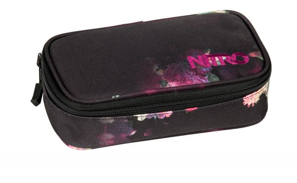 Mäppchen PENCIL CASE XL BLACK ROSE