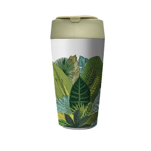 bioloco plant deluxe cup - exotic leaves 420ml