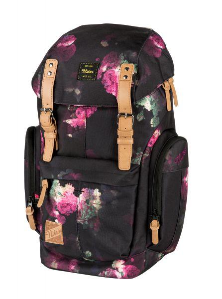 Rucksack Daypacker Black Rose