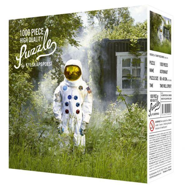 Kylskåpspoesi Puzzle Astronaut