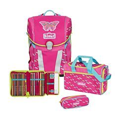 Scout Sunny Set 4tlg Pink Butterfly
