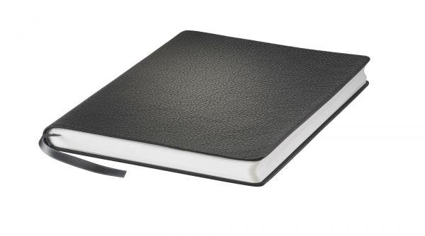 Hahnemühle Iconic Notizbuch schwarz A5 Echtleder 96 Blatt/192 Seiten